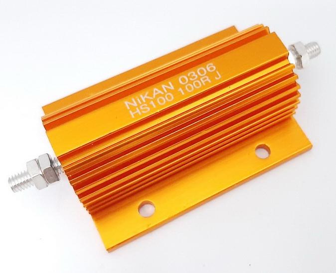 Мощный алюминиевый резистор HS, RX, AH